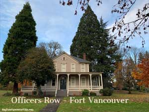 Fort Vancouver home