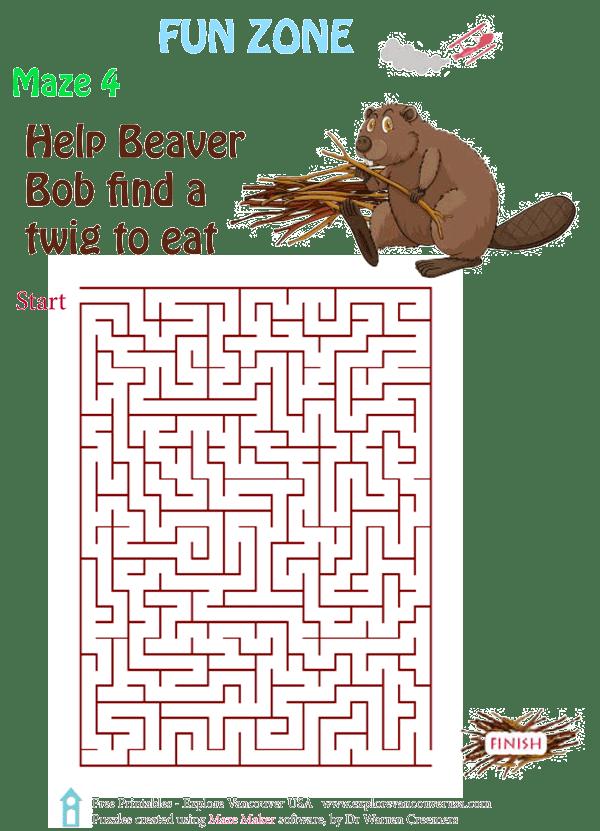 Beaver Bob Maze 4