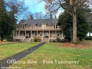 Officers Row in Vancouver Washington
