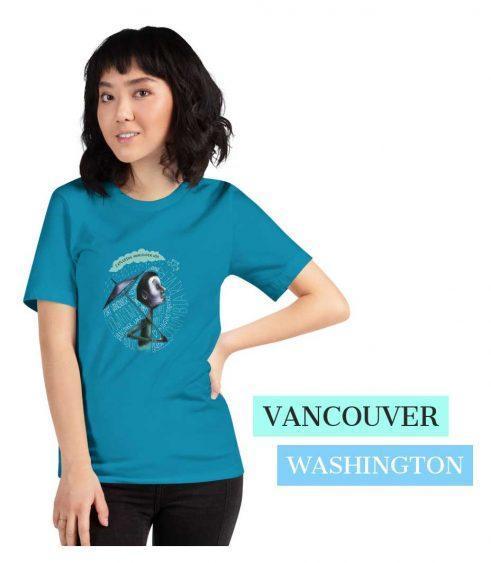 Umbrella design for Vancouver Washington