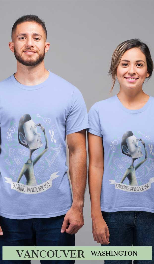 Vancouver Wa Searcher T Shirt