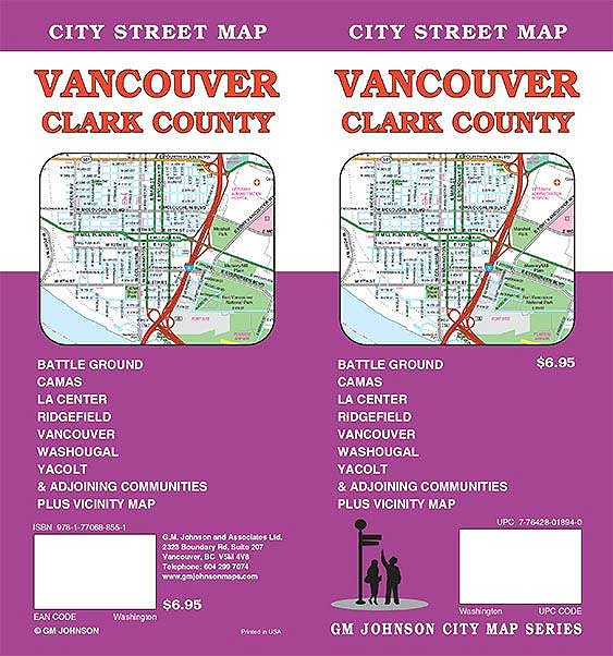 Vancouver-Clark County Street Map