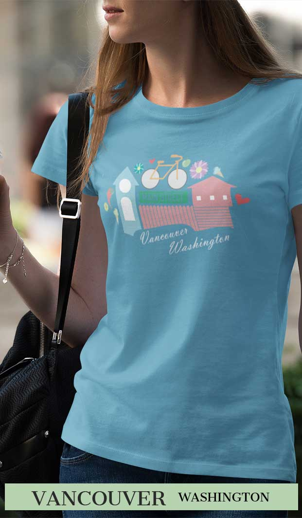 Vancouver Wa Womens t shirt