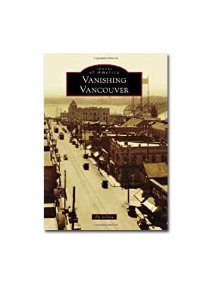 Vanishing Vancouver Paperback cover