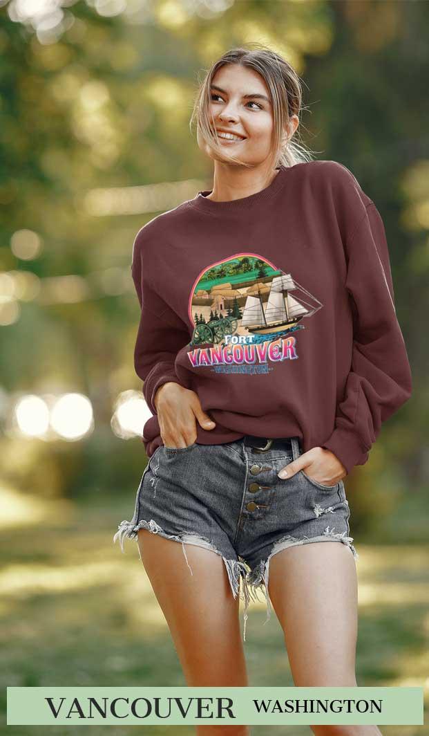 Fort Vancouver Sweatshirt for Women
