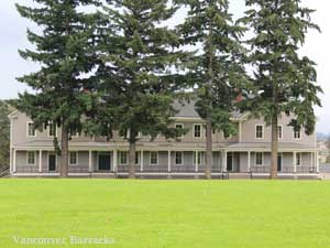 Vancouver Barracks at Fort Vancouver