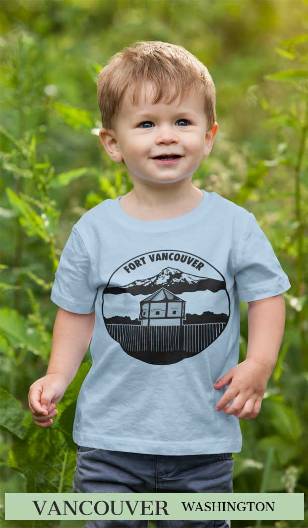 Fort Vancouver T Shirt Toddler