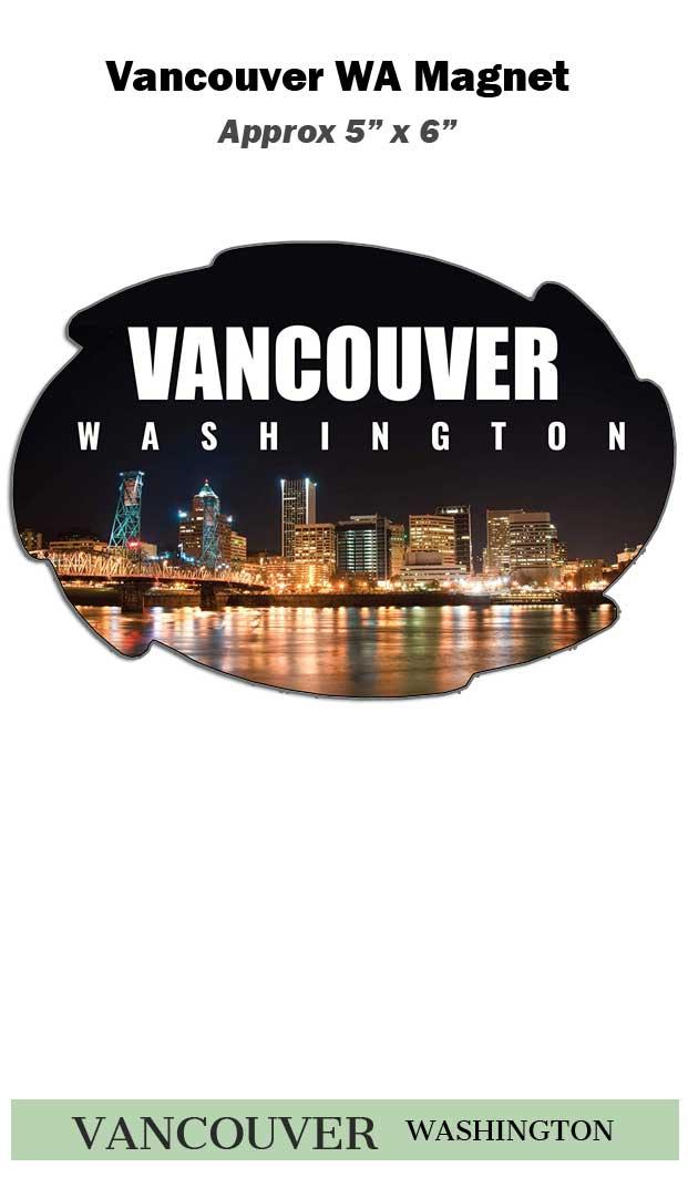Vancouver Wa Swirl Magnet
