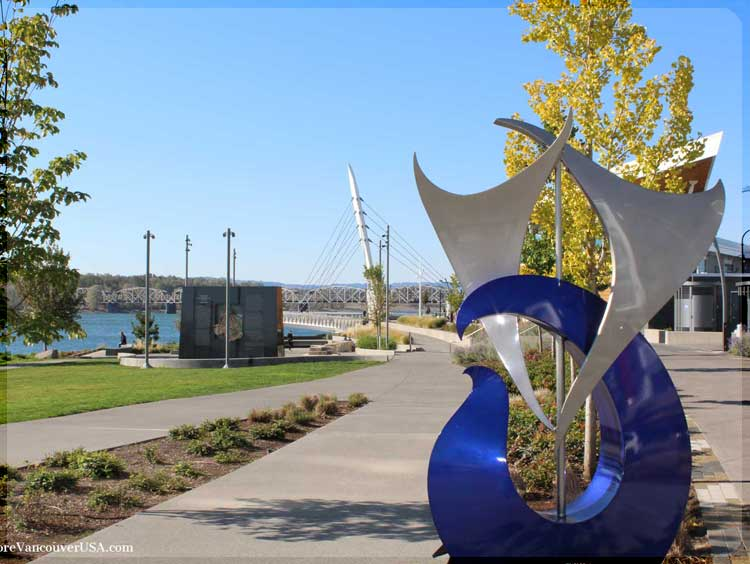 Waterfront at Vancouver Washington