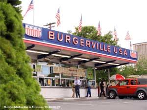 First Burgerville Vancouver Washington