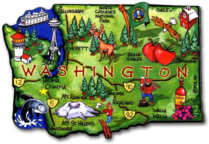 Washington State Magnet